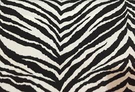 black and white zebra print animal print upholstery fabric by