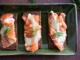 gravlax with caraway coriander and mustard dill sauce recipe
