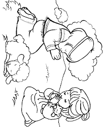free printable bible coloring pages kids