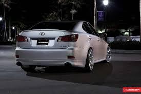lexus is colors vossen wheels lexus is vossen cv7