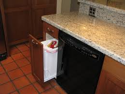 built in trash can cabinet cabinet built in trash can built in trash bin cabinet home design