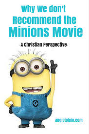 why i do not recommend the minions movie