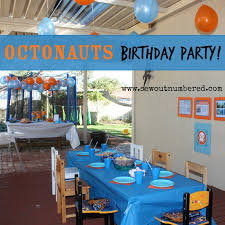 octonauts birthday party including links to printables and tips
