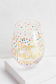 wine glass birthday versona jumbo happy birthday wine glass