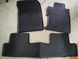 weathertech or oem all weather floor mats