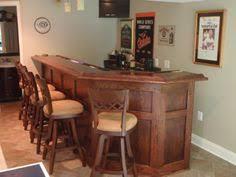 Build Your Own Basement Bar by Massive Wood Carlton Manor Bar Bar And Wood