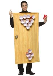 Funny Male Halloween Costumes Beer Pong Costume