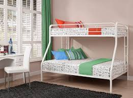 white twin over full bunk bed girls white twin over full bunk