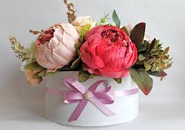 Shabby Chic Flower Arrangement by Amazon Com Artificial Flowers Flower Arrangement Birthday