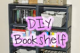 six easy diy bookshelves ideas you can try home tips lol