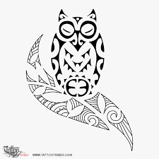 tribal owl tattoo designs protection pictures to pin on pinterest