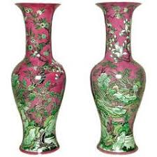 Large Chinese Vases 19thc Pair Of Large Chinese Vases Porcelain Celadon Crackle