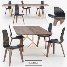 de la espada dining table 3d models table chair de la espada overton dining table tapas chair