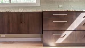 brown stained kitchen cabinets painted vs stained kitchen cabinets