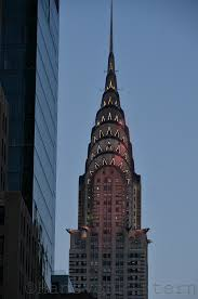 chrysler building new york city in the wit of an eye