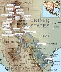 Map Of Colorado And New Mexico by List Of Rio Grande Dams And Diversions Wikipedia