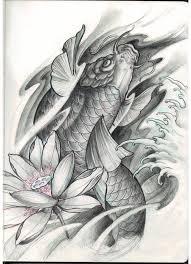 chronic ink tattoo toronto tattoo custom koi fish and lotus