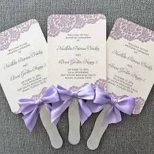 make your own wedding fan programs wedding program kits with ribbon wedding ceremony programs