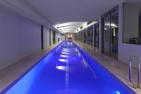 Residential Indoor Pool The Ultimate Luxury A Sunset Indoor Lap Pool And Spa Sunset