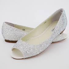 silver flat wedding shoes benjamin halle flats flat wedding shoes evening shoes