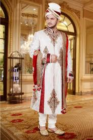 traditional yet contemporary dressing for a muslim groom