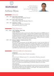 resume cv pdf curriculum vitae samples pdf template 2016