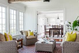 Decorating Ideas For A Sunroom 25 Cheerful And Relaxing Beach Style Sunrooms