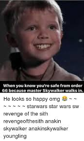 Anakin Skywalker Meme - 25 best memes about anakin skywalker youngling and star wars