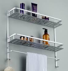 Metal Bathroom Shelves Metal Bathroom Shelf Rack My Web Value