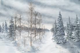 winter paintings j o huppler