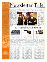 microsoft business newsletter template free downloadapartment