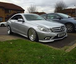 bagged mercedes e class e class coupe air ride camber issues mbworld org forums