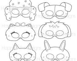printable lizard mask template pets printable masks animal mask pets party masks animal