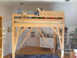 Building A Loft Bed Frame Bed Frame Size Loft Bed Frame Diy Loft Bed Size Loft