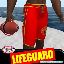 second life marketplace authentic boys lifeguard shorts u0026 bouy