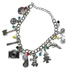 themed charm bracelet things tv series 10 themed charms charm