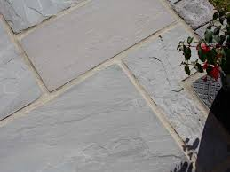 Patio Paving Stones by Dove Grey Sandstone Patio Paving Calibrated Patio Slabs