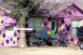 Purple Paint Law by 10 Houses Painted In Protest Mental Floss