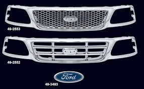 all ford f150 all chrome replacement grille 1999 03 ford f150 2004 ford f150