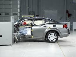 2012 dodge avenger safety rating 2012 dodge avenger driver side small overlap iihs crash test