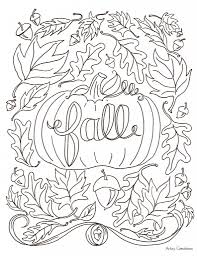 fall free coloring pages aecost net aecost net