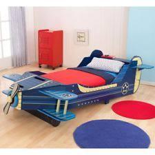 airplane toddler bed kidkraft airplane toddler bed 76269 ebay
