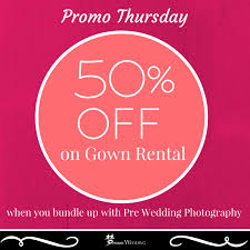 discount linen rental 50 discount wedding gown rental promo thursday wedding