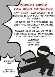 154 best let u0027s party ninja images on pinterest birthday party