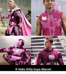 Hello Kitty Meme - if hello kitty buys marvel funny meme on esmemes com
