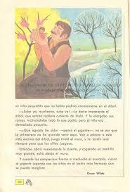 mis libros historias de la historia libros de primaria de los 80 s el gigante egoísta español ej y