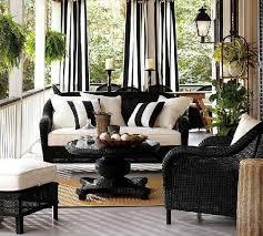 precious black wicker furniture remarkable design patio
