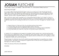 agent cover letters