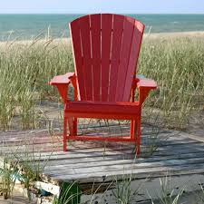 Poly Lumber Outdoor Furniture Poly Lumber Adirondack Chair And Headrest Combo Dfohome
