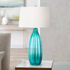 Blue Table Lamp Stella 30